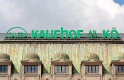 Galeria Kaufhof store at Königsallee Dusseldorf Royalty Free Stock Photo