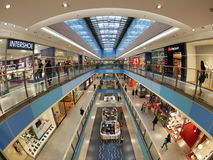 Galeria Krakowska Mall is the biggest and most famous shopping m Stock Images