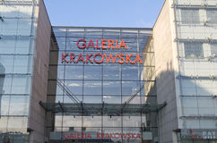 Galeria Krakowska, shopping centre, Krakow, Poland Stock Photography