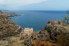 Galeria La Fajana, Los Realejos, Tenerife Island Stock Images