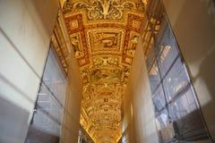 Galeria mapy w Watykan Obrazy Stock