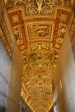 Galeria mapy w Watykan Zdjęcie Royalty Free
