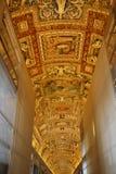 Galeria mapy w Watykan Zdjęcia Stock