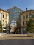 Galeria Matteotti在梅斯特雷,威尼斯,意大利广域市  图库摄影