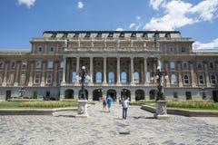 Galeria nacional húngara em Budapest foto de stock