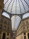 galeria Neapolu Umberto zdjęcie royalty free