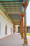 A galeria obscuro de Jami Mosque Fotos de Stock