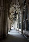 Galeria przed głównym wejściem Wiedeń urząd miasta fotografia royalty free