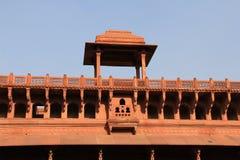 Galeria przy wejściem Agra fort Obrazy Royalty Free