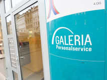 Galeria staff service Royalty Free Stock Photography
