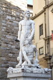Galeria statuy w Palazzo Vecchio Obrazy Royalty Free