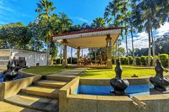 Galeria Sultan Azlan Shah em Kuala Kangsar, Malásia imagens de stock royalty free
