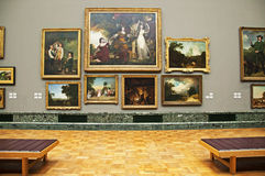 galeria sztuki obraz royalty free