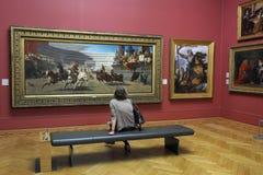 Galeria Sztuki  Zdjęcie Stock