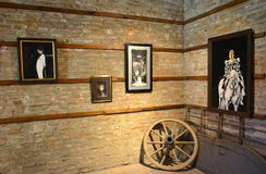 Galeria sztuki -1 Obrazy Stock