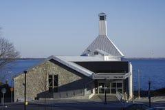 Galeria Sztuki budynek w Nowożytnej architekturze Obrazy Royalty Free