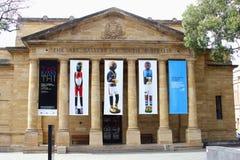 Galeria sztuki Południowy Australia, Adelaide Zdjęcie Stock