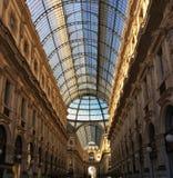 Galeria Vittorio Emanuele Mediolan obrazy royalty free