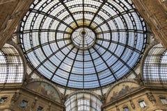 Galeria Vittorio - Milão Imagem de Stock