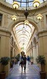 Galeria Vivienne, Paryż, Francja Zdjęcia Royalty Free