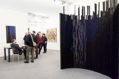 Galeria w sztuka jarmarku Obrazy Stock