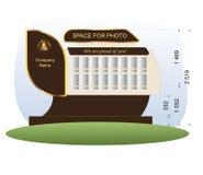 Galeria zdjęć Obraz Stock