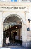 Galerie在皇家宫殿,巴黎,法国附近的Vero Dodat 库存图片