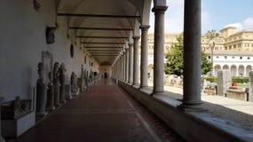 Galerie à Rome Photos stock