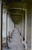 Galerie bei Angkor Wat Lizenzfreie Stockbilder