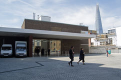 Galerie blanche de cube, Bermondsey, Londres Photos libres de droits