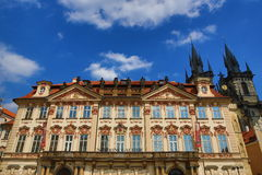 Galerie, Church of Our Lady before Tyn, Old Towen Square, Prague, Czech Republic Stock Photos