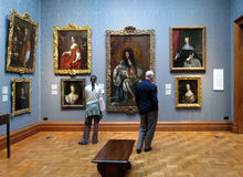Galerie d'art photographie stock