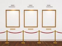 Galerie d'art illustration libre de droits