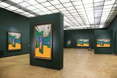 Galerie d'art 6 Images stock