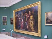 Galerie d'art de Hall de tissu - Cracovie - Pologne Image libre de droits
