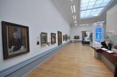 Galerie d'art de marcheur Liverpool Images libres de droits