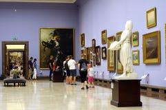 Galerie d'art de polonais de 19ème siècle Photos stock