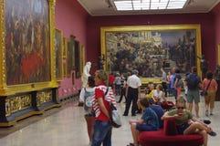 Galerie d'art de polonais de 19ème siècle Images libres de droits