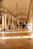 Galerie dans le Trianon grand Photographie stock