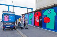 Galerie de côté est à Berlin, Allemagne Photos libres de droits