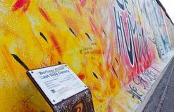 Galerie de côté est à Berlin, Allemagne Image stock