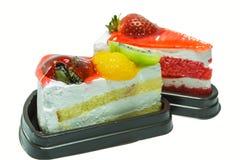 Galerie de gâteau de fraise de fruit. Image libre de droits