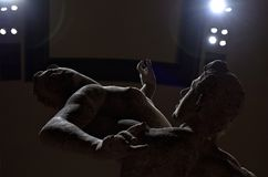 Galerie de l'académie de Florence XI Images stock