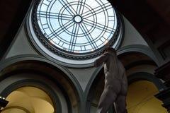 Galerie de l'académie de Florence XIX Photo stock