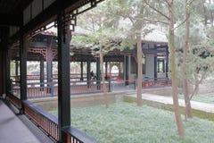 Galerie de temple de wuhou, adobe RVB photographie stock