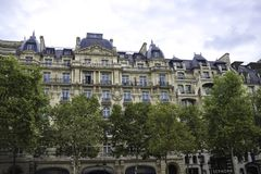 Galerie du Claridge Champs-Elysees Paris Frances en septembre 2017 photo stock