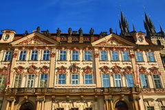 Galerie, The Gothic Church of our Lady before Tyn on Old Town Square, Prague, Czech republic Stock Images