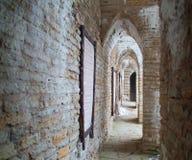 Galerie im alten Schloss lizenzfreie stockfotografie