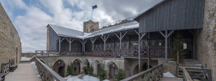 Galerie im alten Schloss lizenzfreies stockfoto