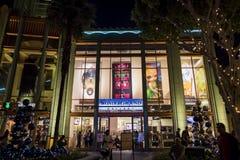 Galerie im berühmten im Stadtzentrum gelegenen Disney-Bezirk, Disneyland Resor Stockbild